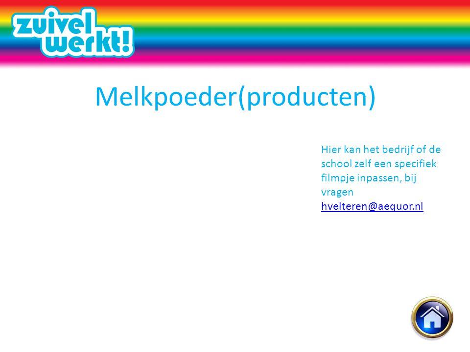 Melkpoeder(producten)