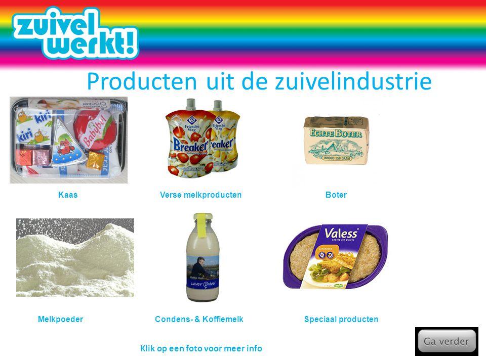 Producten uit de zuivelindustrie
