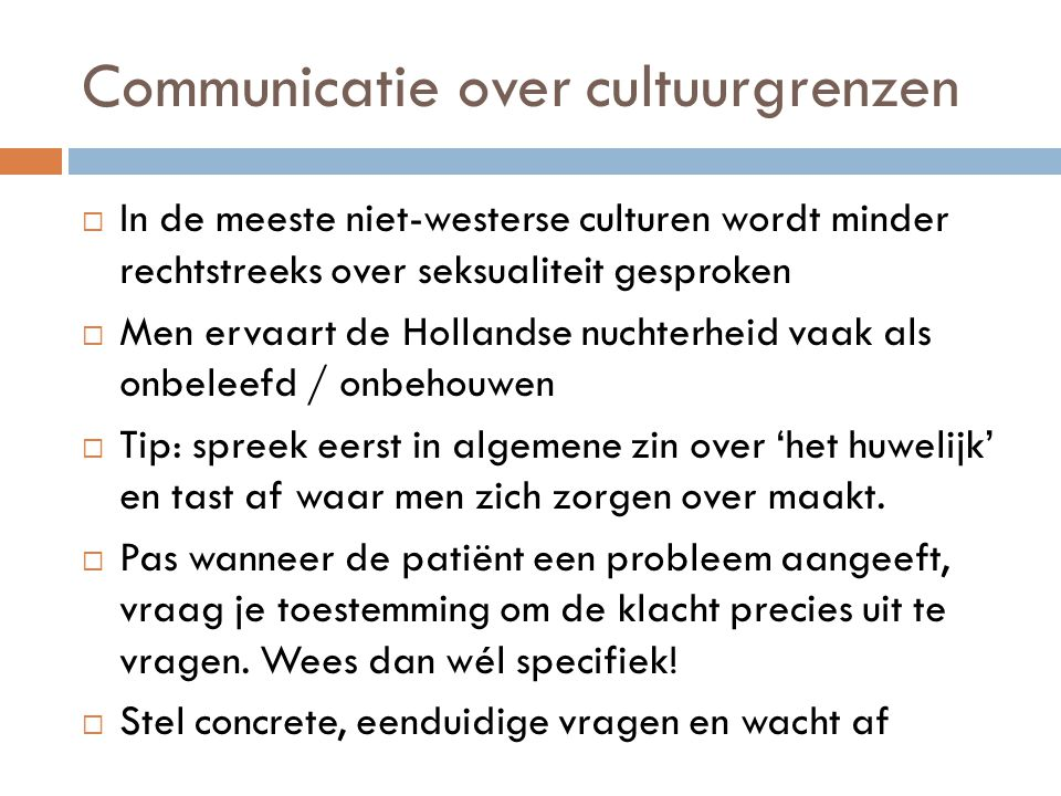 Communicatie over cultuurgrenzen