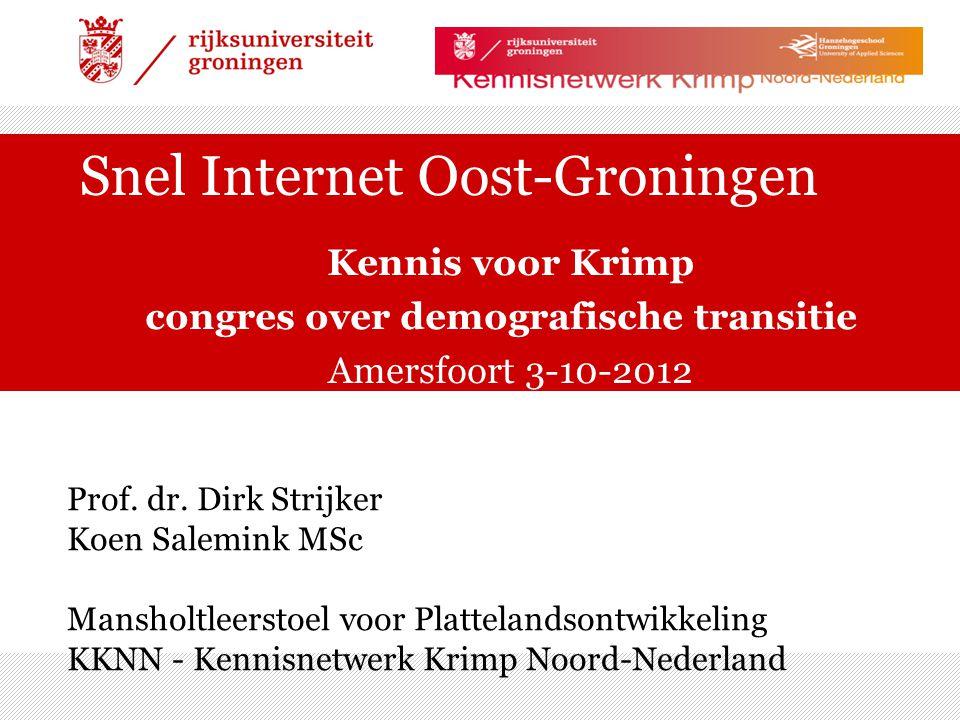 Snel Internet Oost-Groningen
