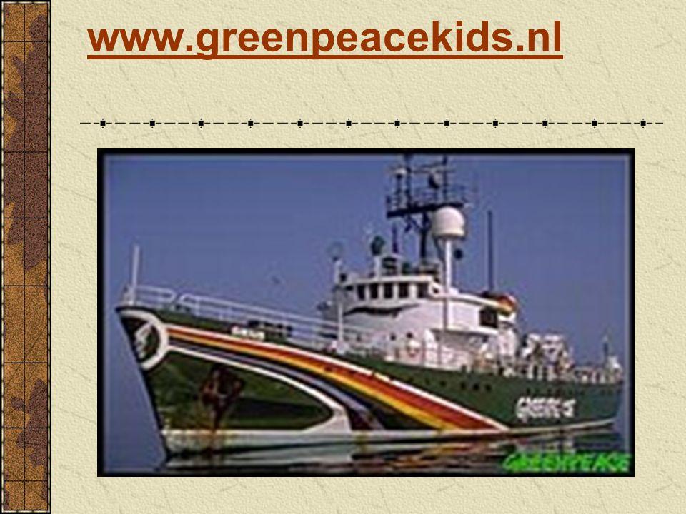www.greenpeacekids.nl Zie voor meer tips de website.