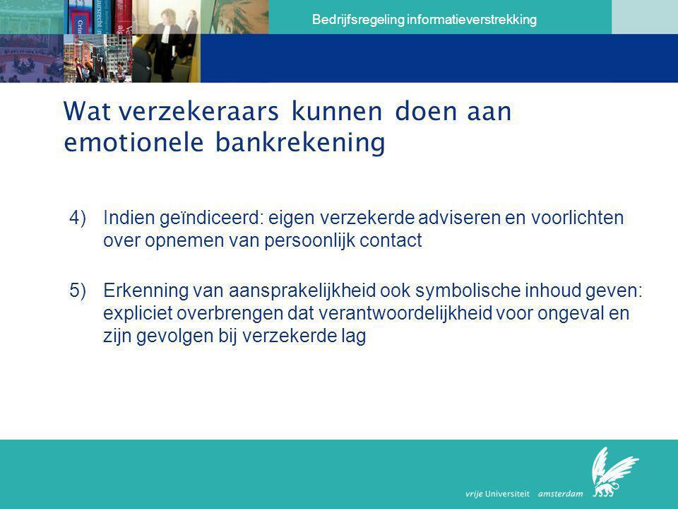 Wat verzekeraars kunnen doen aan emotionele bankrekening