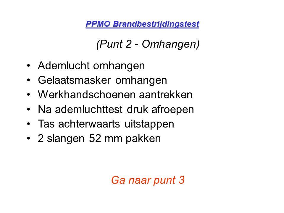 PPMO Brandbestrijdingstest