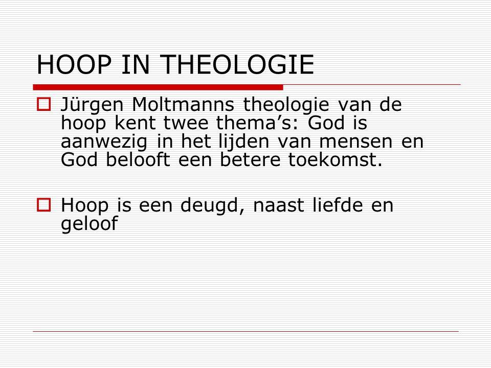 HOOP IN THEOLOGIE
