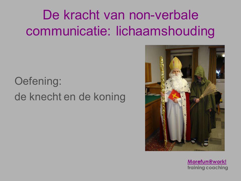 De kracht van non-verbale communicatie: lichaamshouding