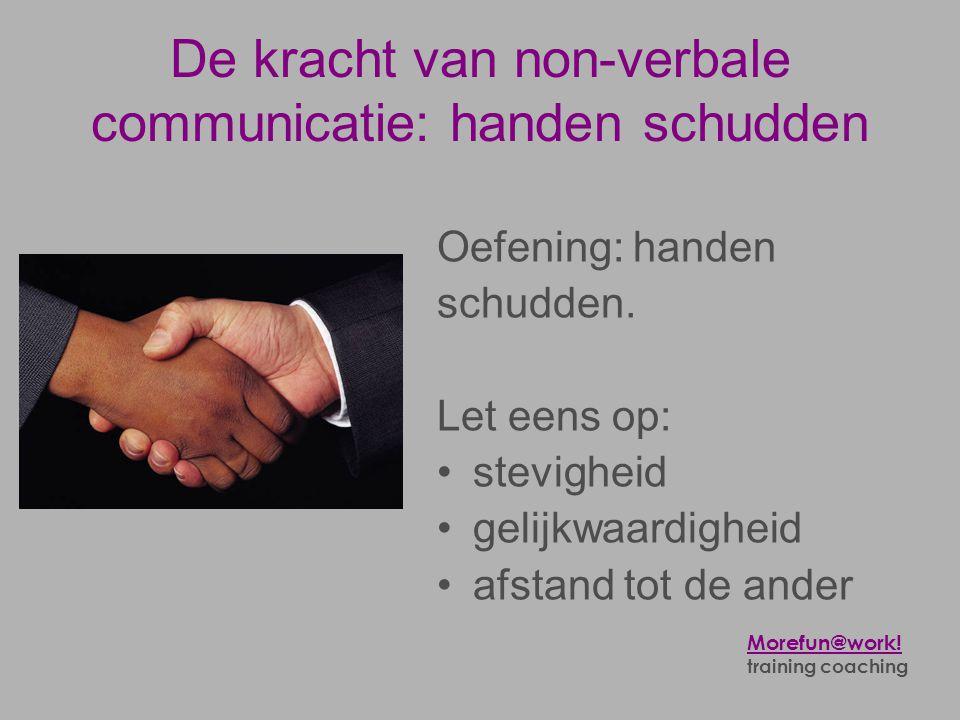 De kracht van non-verbale communicatie: handen schudden