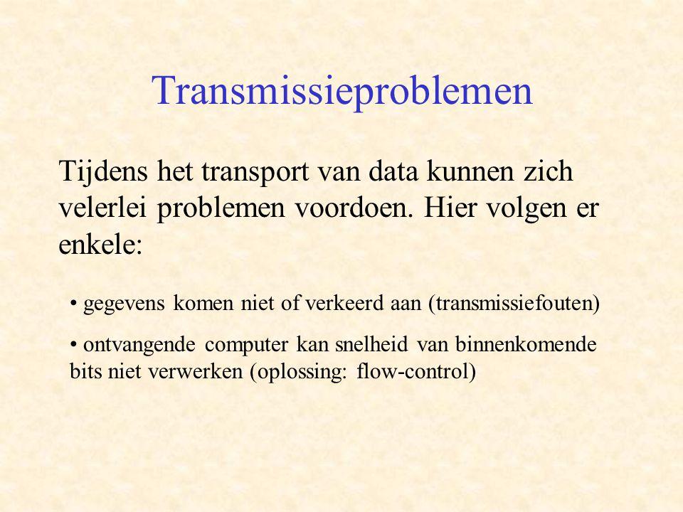 Transmissieproblemen