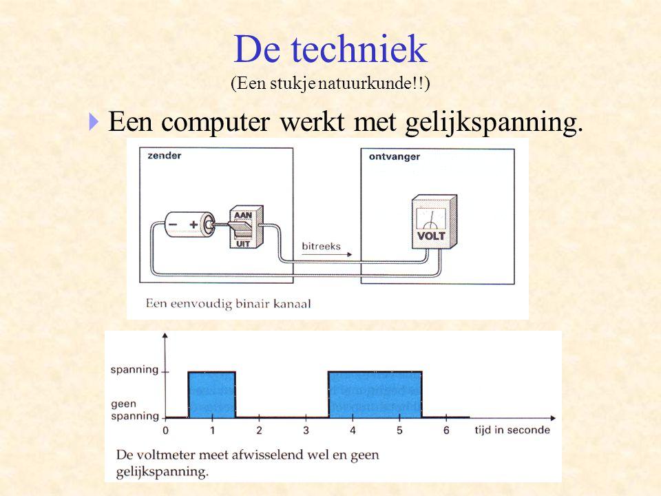 De techniek (Een stukje natuurkunde!!)