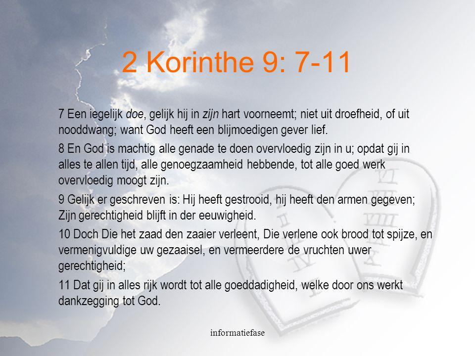 2 Korinthe 9: 7-11