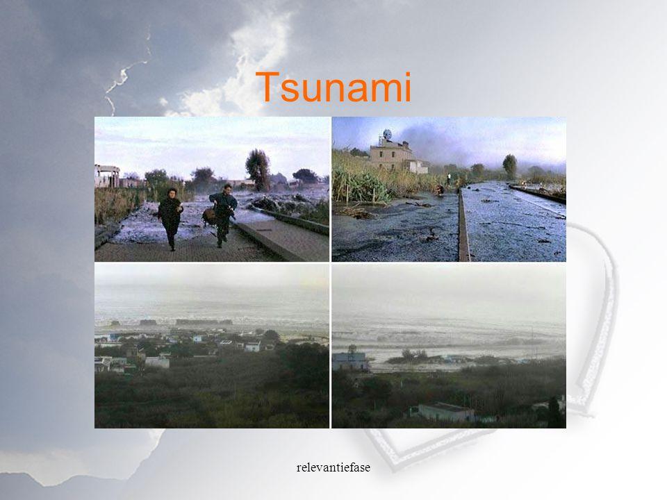 Tsunami relevantiefase