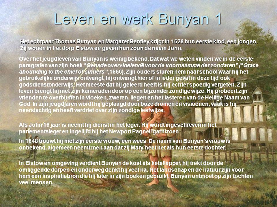 Leven en werk Bunyan 1