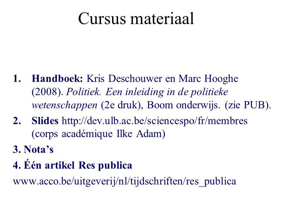 Cursus materiaal