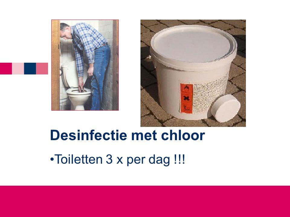 Desinfectie met chloor