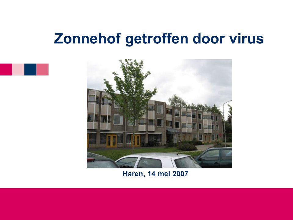 Zonnehof getroffen door virus