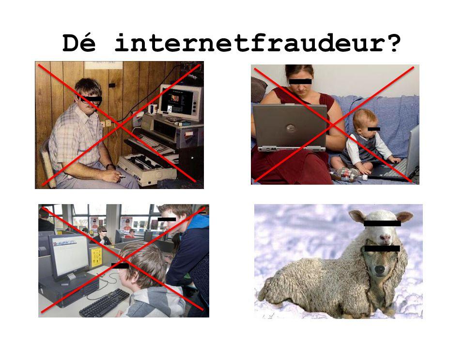 Dé internetfraudeur 14