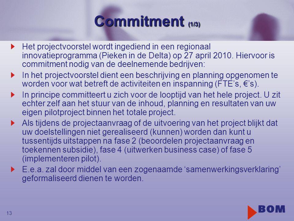 Commitment (1/3)