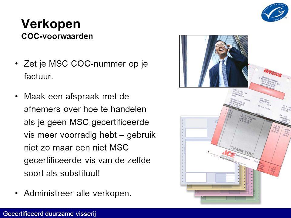 Verkopen COC-voorwaarden