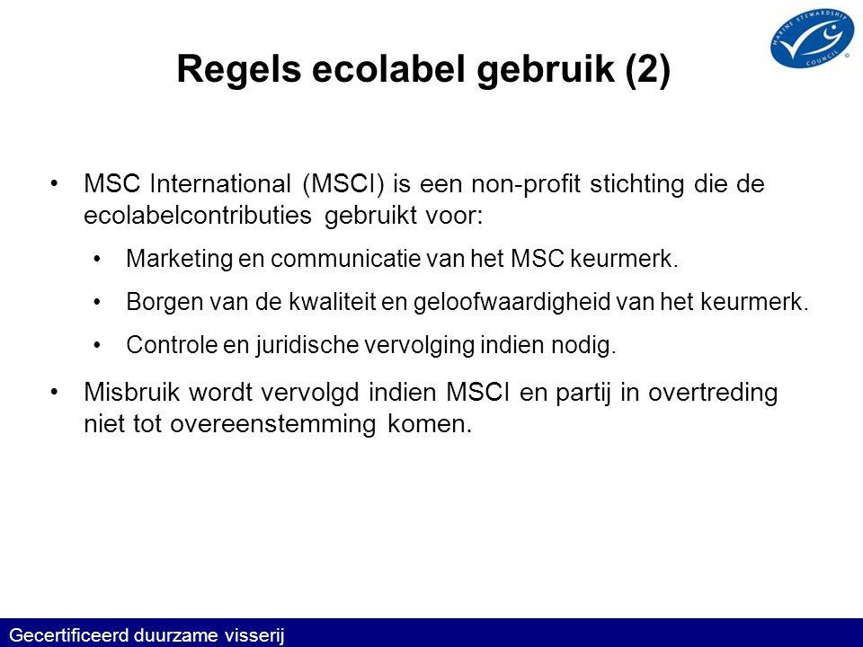 Regels ecolabel gebruik (2)