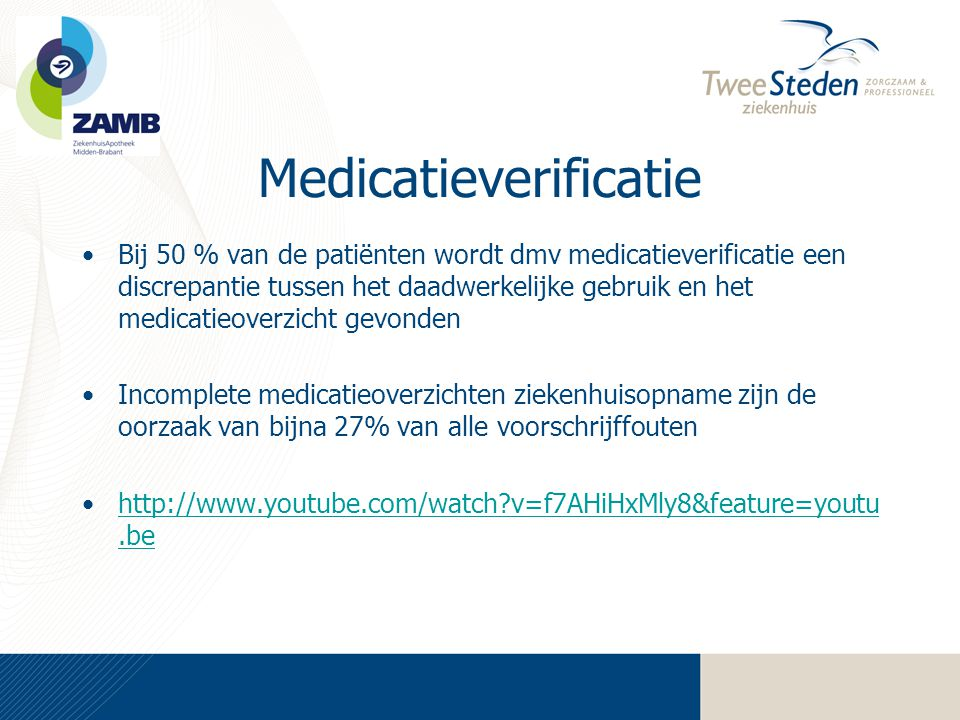 Medicatieverificatie
