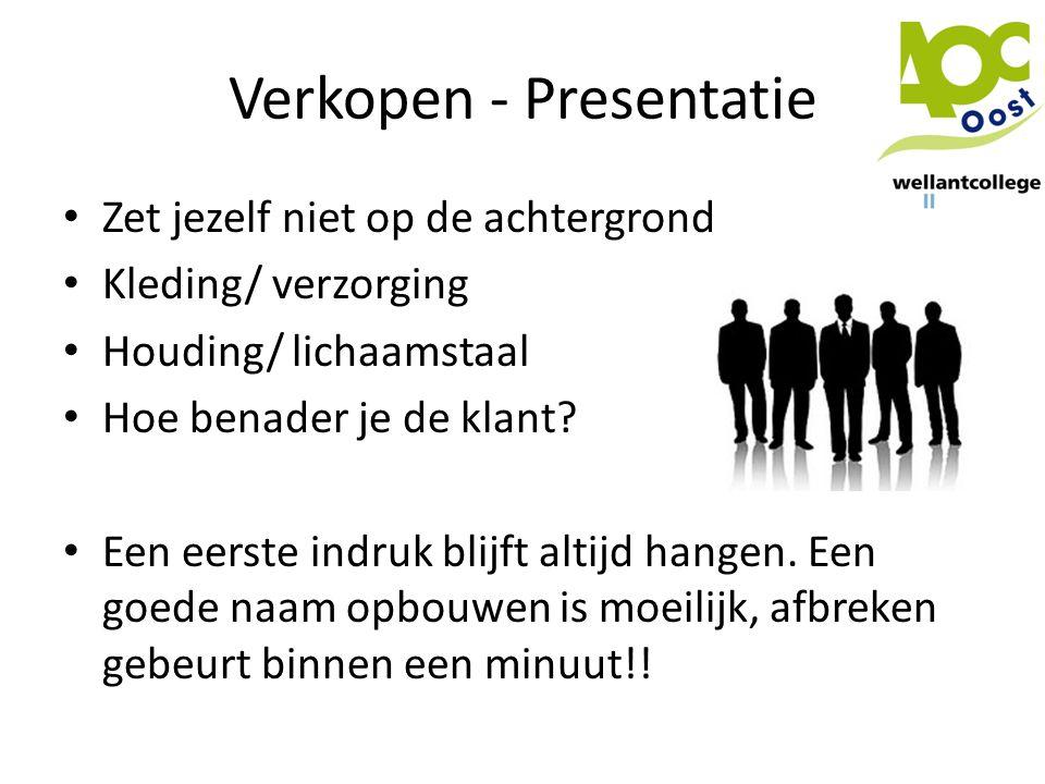 Verkopen - Presentatie