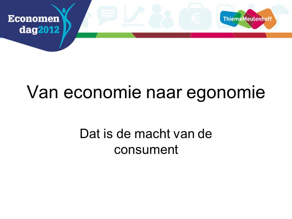 Van economie naar egonomie