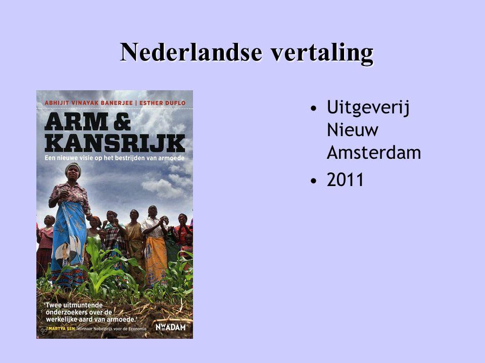 Nederlandse vertaling