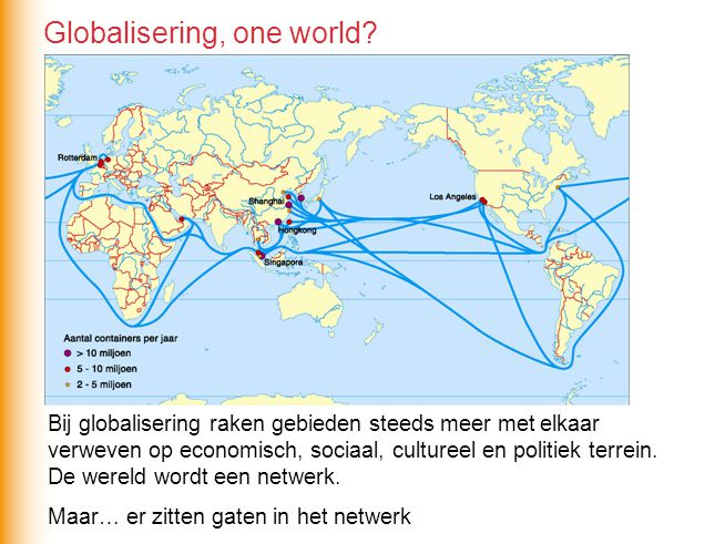 Globalisering, one world