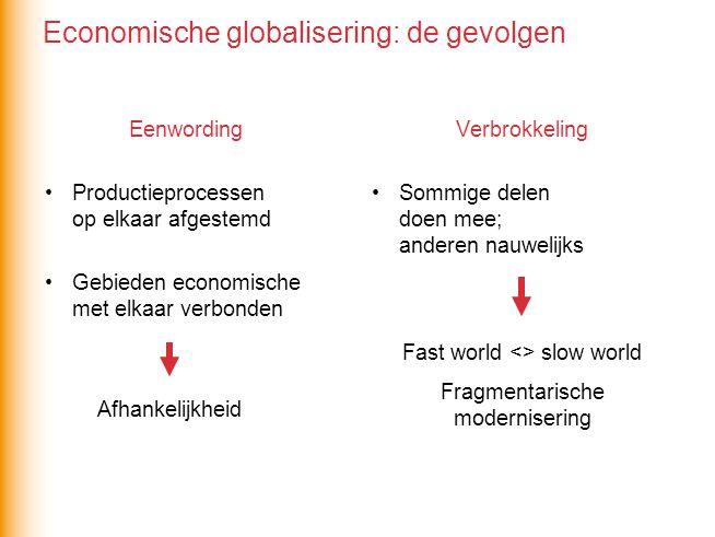 Economische globalisering: de gevolgen