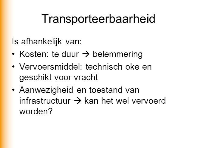 Transporteerbaarheid