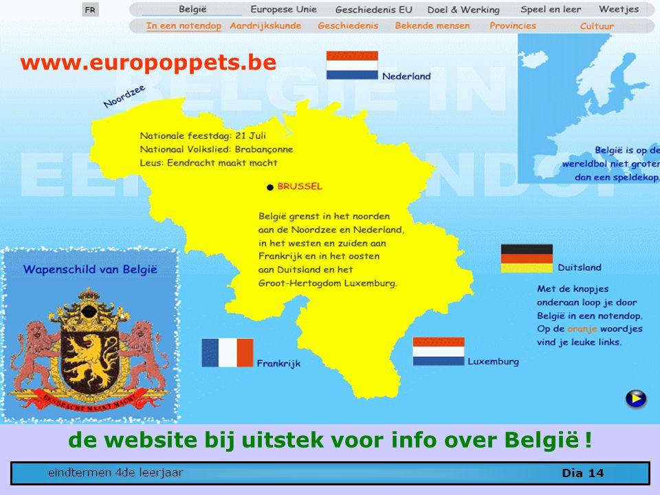 de website bij uitstek voor info over België !