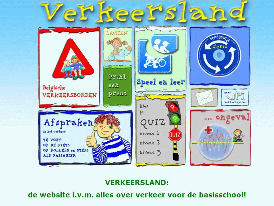 de website i.v.m. alles over verkeer voor de basisschool!