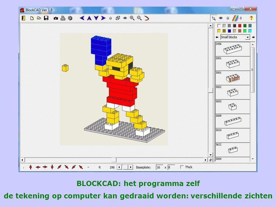 BLOCKCAD: het programma zelf