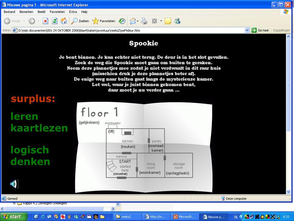 surplus: leren kaartlezen logisch denken