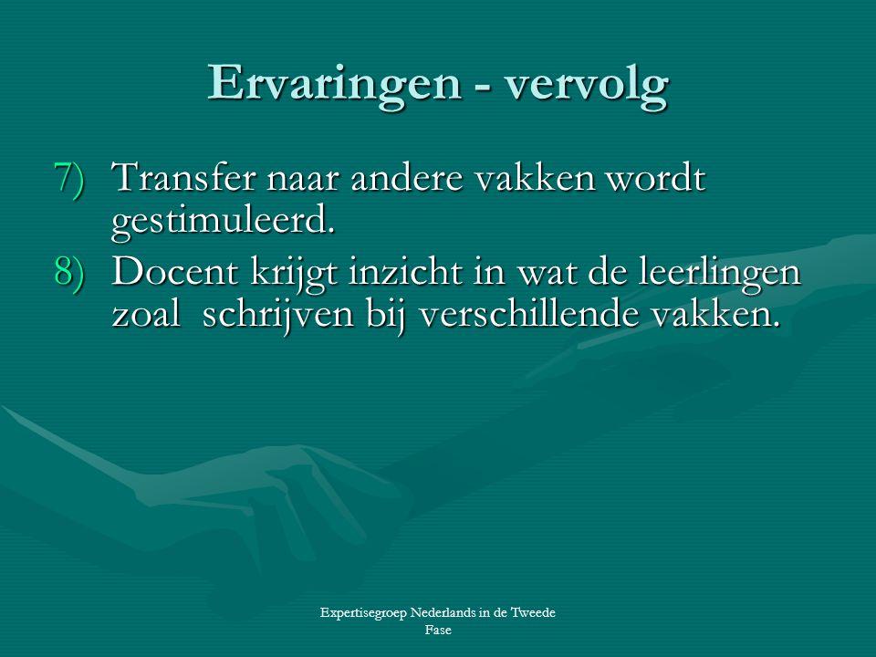 Expertisegroep Nederlands in de Tweede Fase