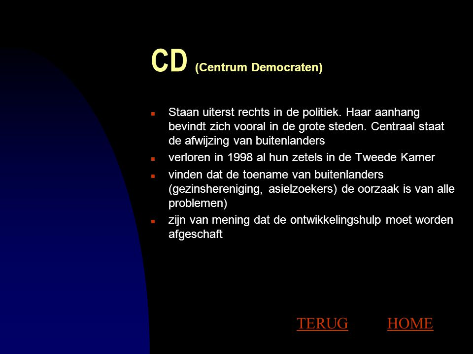CD (Centrum Democraten)