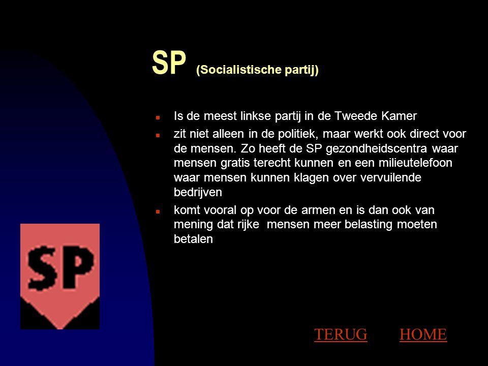 SP (Socialistische partij)