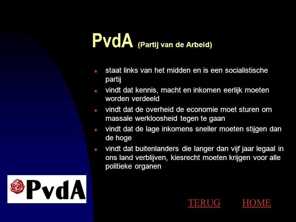 PvdA (Partij van de Arbeid)