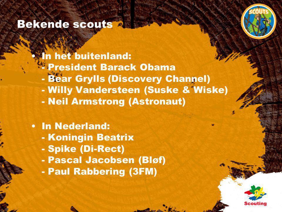 Bekende scouts