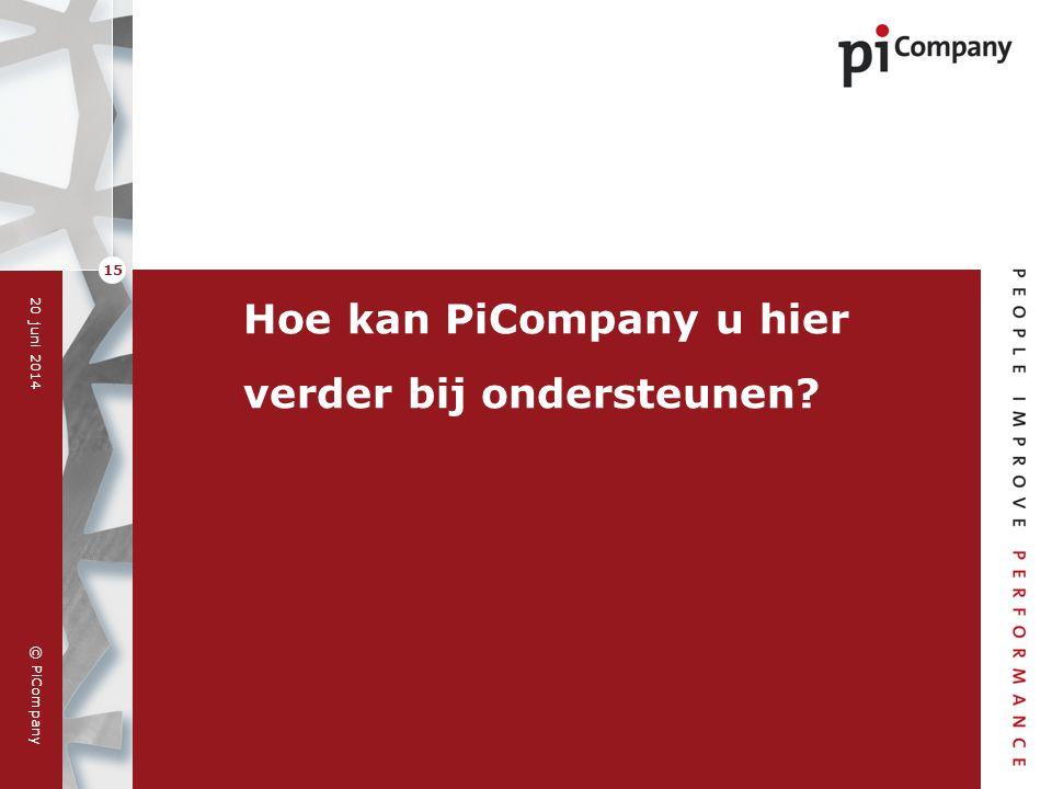 Hoe kan PiCompany u hier verder bij ondersteunen