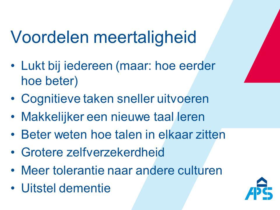 Voordelen meertaligheid