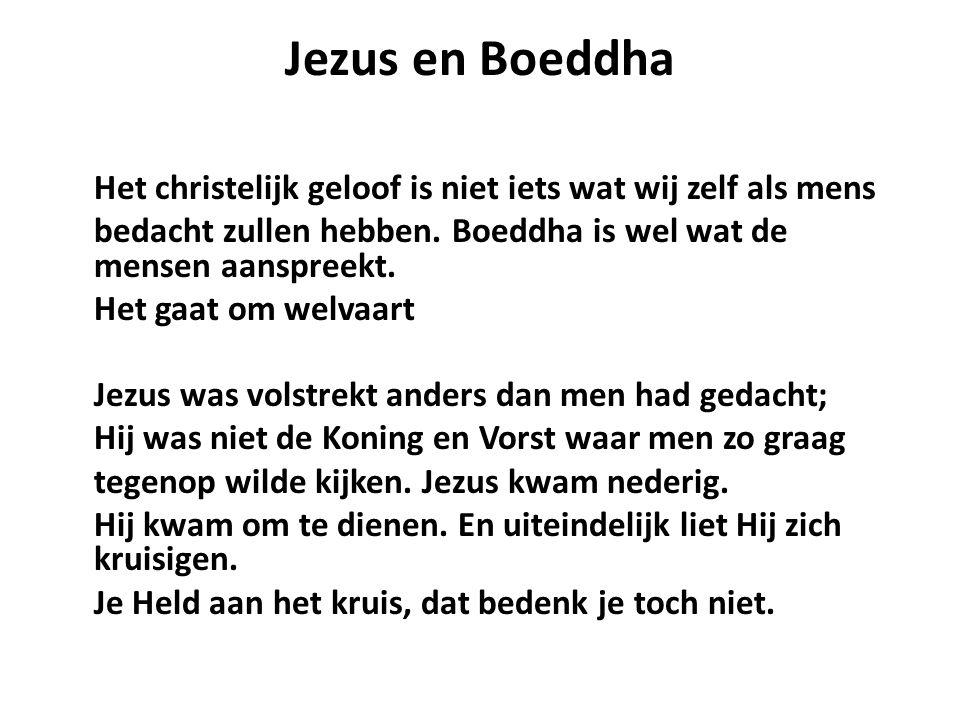 Jezus en Boeddha
