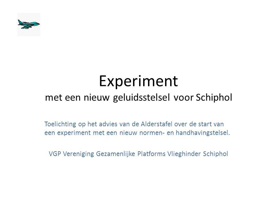 Experiment met een nieuw geluidsstelsel voor Schiphol