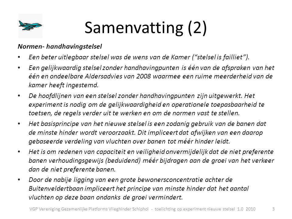 Samenvatting (2) Normen- handhavingstelsel