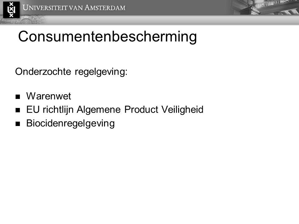 Consumentenbescherming