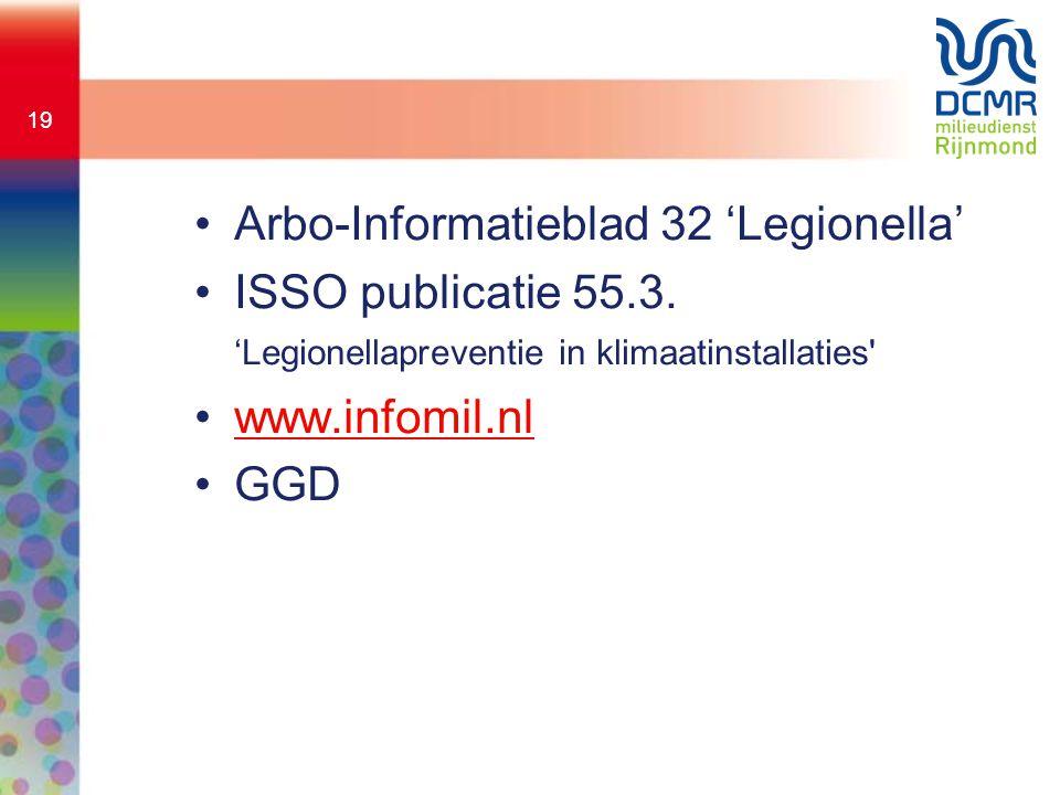 Arbo-Informatieblad 32 'Legionella'