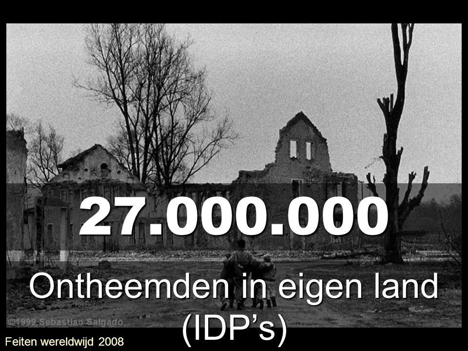 Ontheemden in eigen land (IDP's)