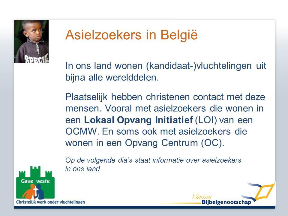 Asielzoekers in België