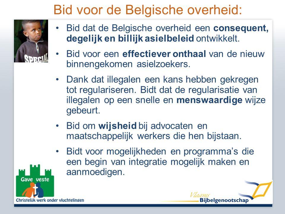 Bid voor de Belgische overheid: