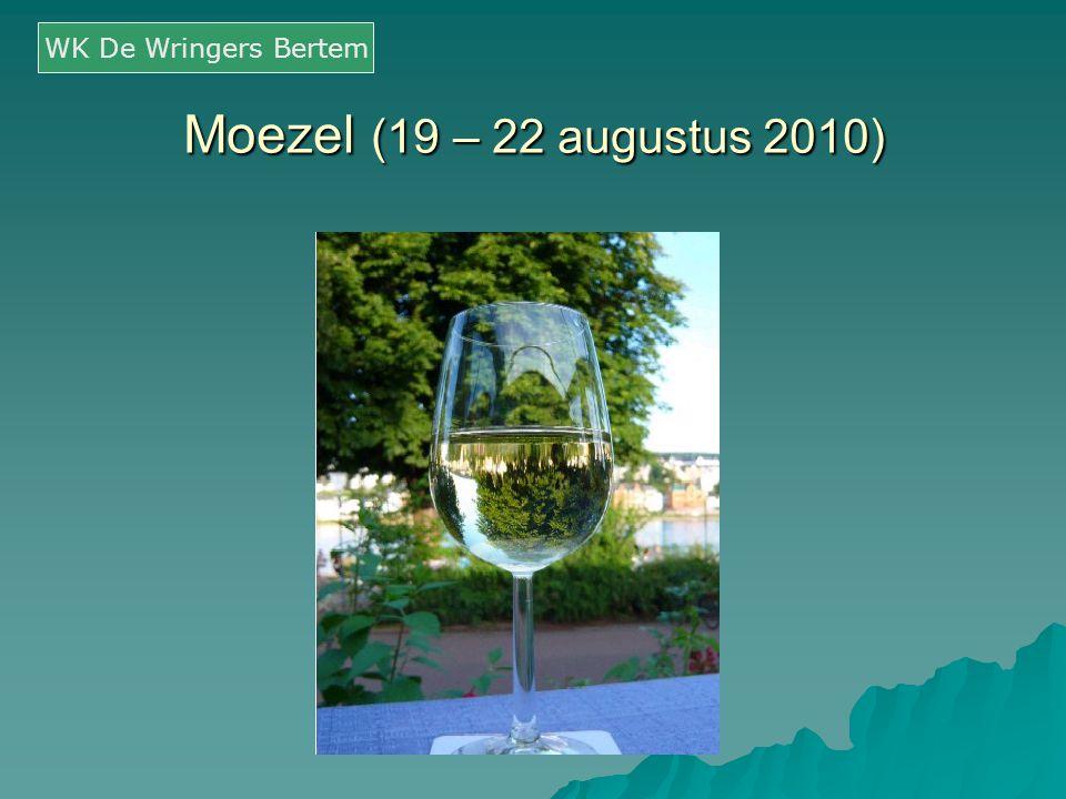 WK De Wringers Bertem Moezel (19 – 22 augustus 2010)