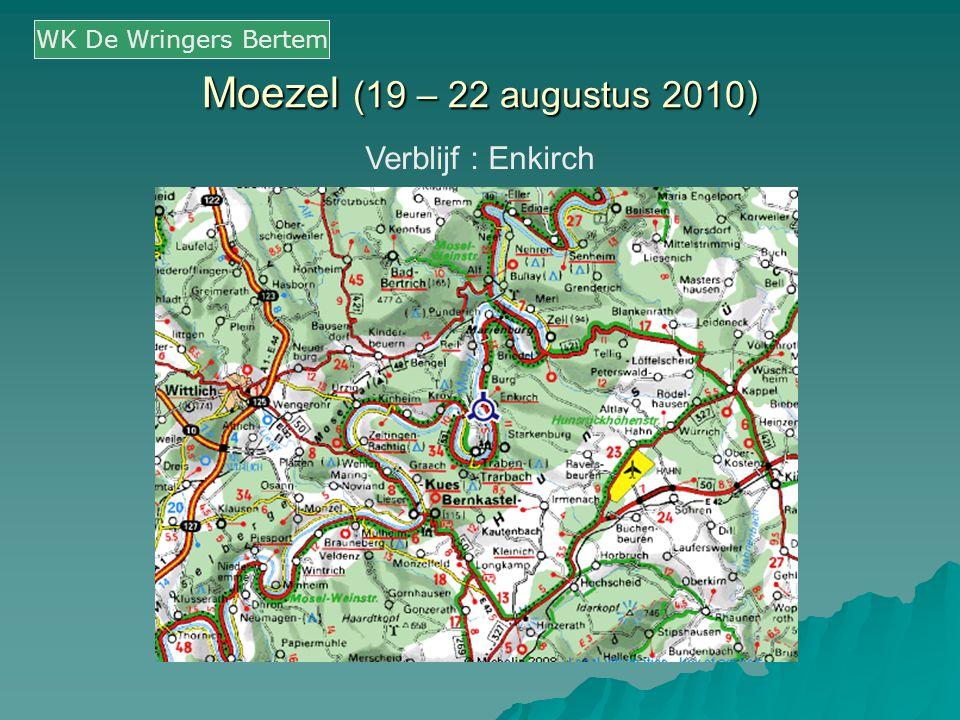 Moezel (19 – 22 augustus 2010) Verblijf : Enkirch